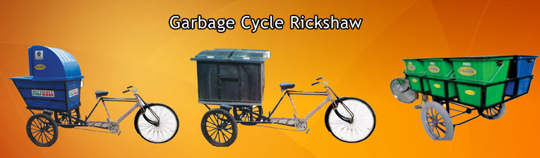Garbage-Cycle-Rickshaw